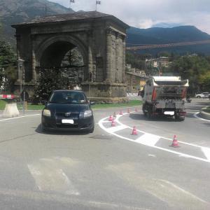 "Piazza Arco d'Augusto sempre più ""a misura di pedone"""