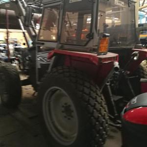 Il Comune mette in vendita un trattore usato