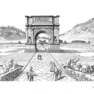 """L'ingresso Est di Augusta Prætoria si aggiudica il contest """"Disegna la tua città"""""""