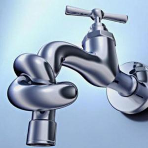 Interruzione temporanea dell'erogazione di acqua potabile