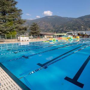 Dal 12 giugno aperta la piscina scoperta di Aosta